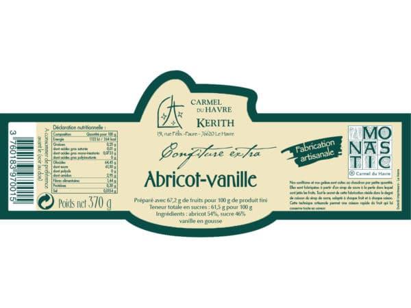 Carmel-du-Havre-confiture-artisanale-Abricot-Vanille