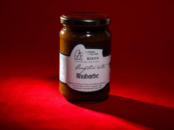 Carmel-du-Havre-confiture-artisanale-Rhubarbe