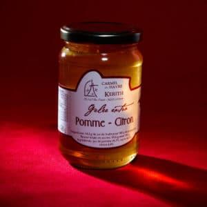 Carmel-du-Havre-gelée-artisanale-Pomme-Citron